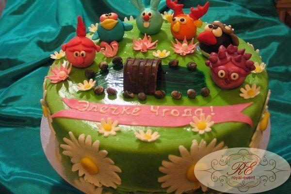 Торт на др ребенка рецепт