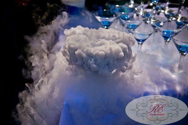Как сделать цветной дым от сухого льда