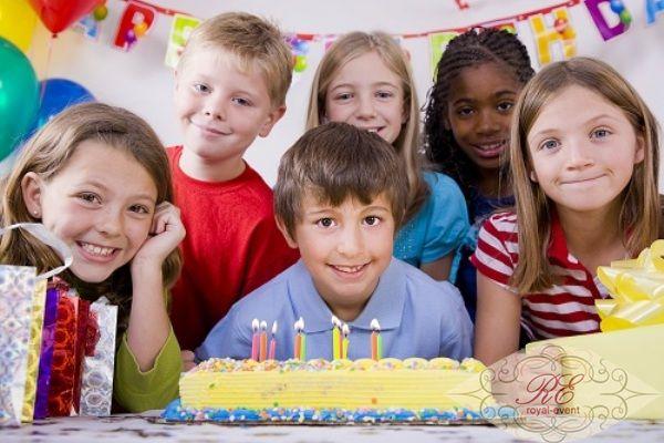 детский день рождения для мальчика