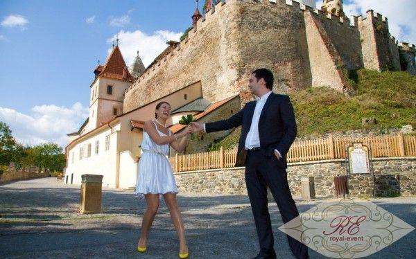 Свадьба в замке Италии
