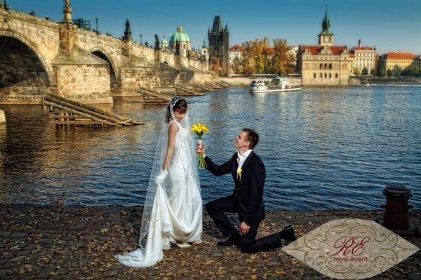 свадьба в замках чехии