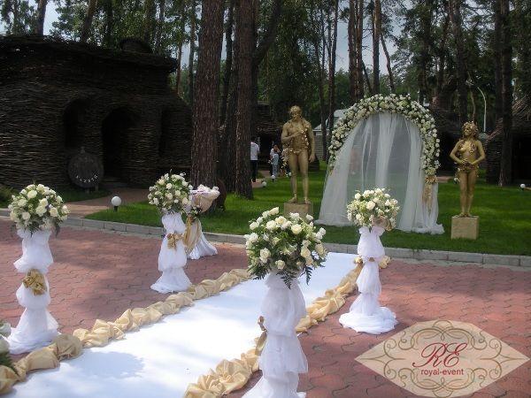 Колонны в аренду на свадьбу