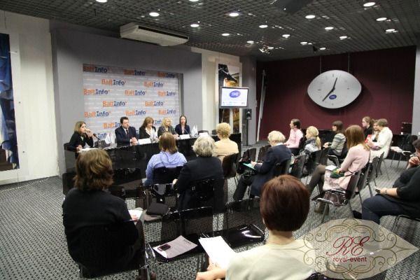 проведение пресс конференции