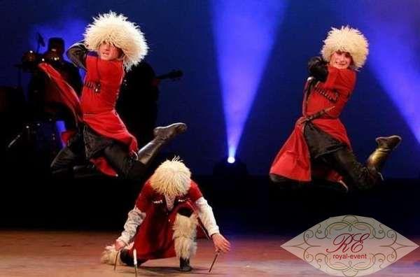 Грузинский танцевальный коллектив