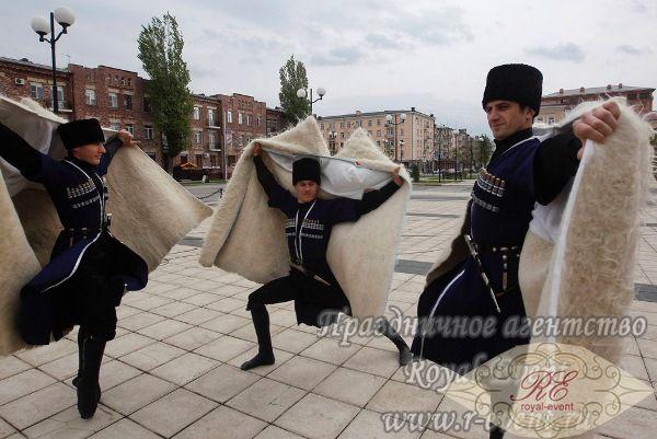 Чеченский танцевальный коллектив