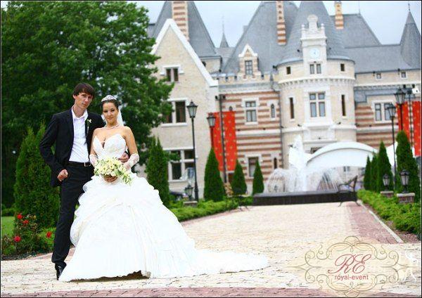 Свадьба в замке Подмосковья