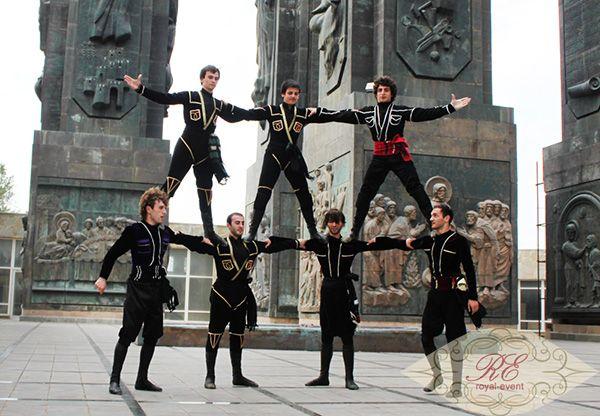 грузинский национальный танец