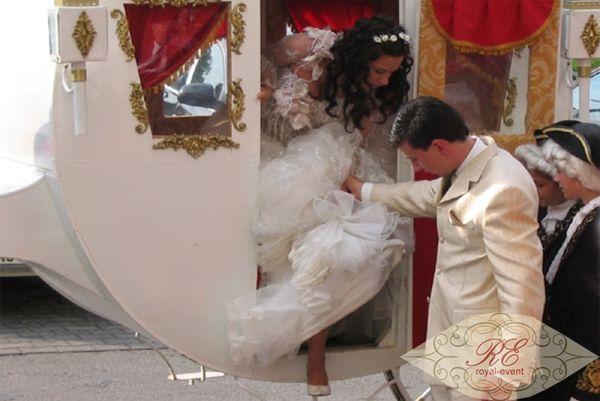 конный экипаж на свадьбу