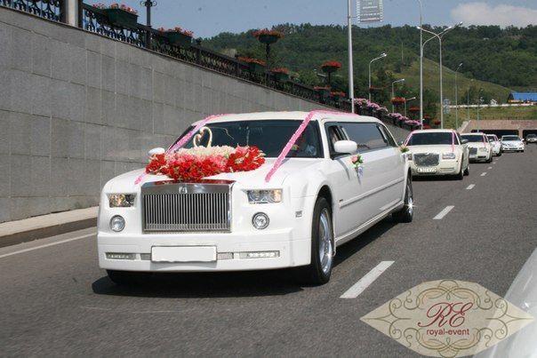 Rolls-Royce на свадьбу