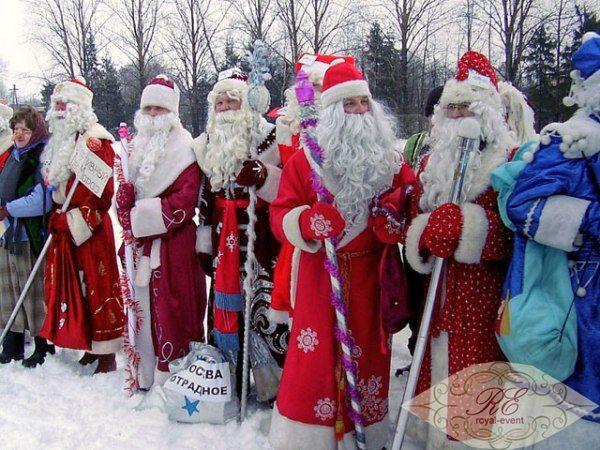 Дед Мороз ребенку