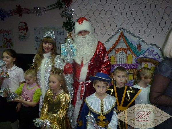 детское новогоднее шоу