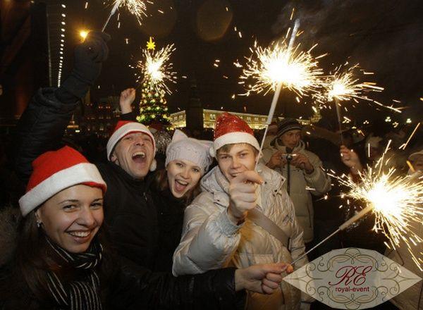 новогоднее представление 2014